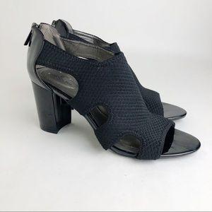 Bandolino Black Block Heels Size 9